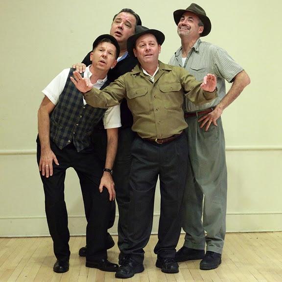 Charles Baran, Paul Malamphy, Michael Schilke and Mark Singer Photo