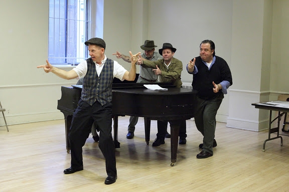 Photo Flash: Pins and Needles In Rehearsal At HOWL