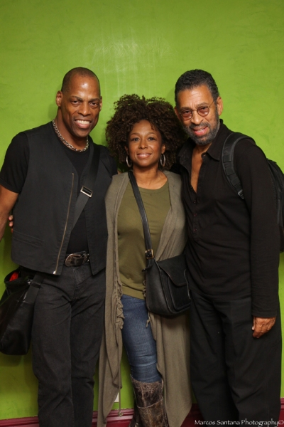 Adrian Bailey, Wynonna Smith, Maurice Hines at D. WATTS' SPOKEN WORD PRESERVES: THE JAM at  the Helen Mills Spotlight Theatre