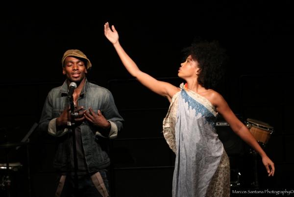 Photo Flash: D. WATTS' SPOKEN WORD PRESERVES: THE JAM at  the Helen Mills Spotlight Theatre
