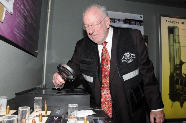 Photo Flash: The Honorable Oscar Goodman Stops by CSI: The Experience at MGM Grand