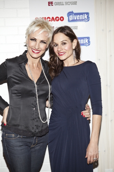 Photo Coverage: Kara DioGuardi and CHICAGO Lend Support to Givenik.com