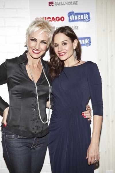 Amra-Faye Wright and Kara DioGuardi Photo