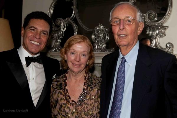 Clint Holmes, Cecelia Joyce Johnson, Roger Horchow