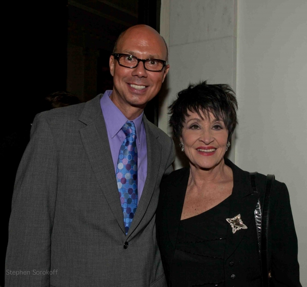 Richie Ridge & Chita Rivera at BWW Reviews: Clint Holmes Brings REMEMBERING BOBBY SHORT to the Cafe Carlyle
