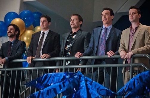 Thomas Ian Nicholas, Jason Biggs, Sean William Scott, Chris Klein & Eddie Kaye Thomas
