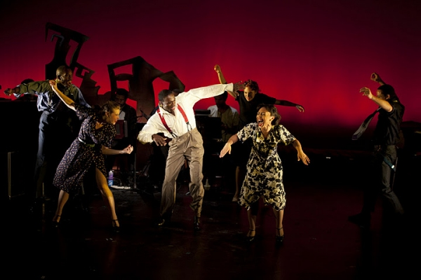 Photo Flash: CENTRAL AVENUE BREAKDOWN Plays NYMF!
