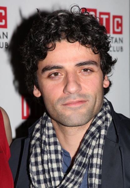 Oscar Isaac attending the Opening Night Party for the MTC's Production of  'We Live Here' at the Beacon Restaurant in New York City.