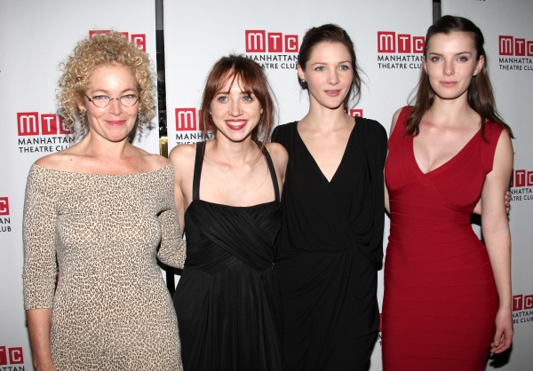 Amy Irving, Playwright Zoe Kazan, Jessica Collins, Betty Gilpin