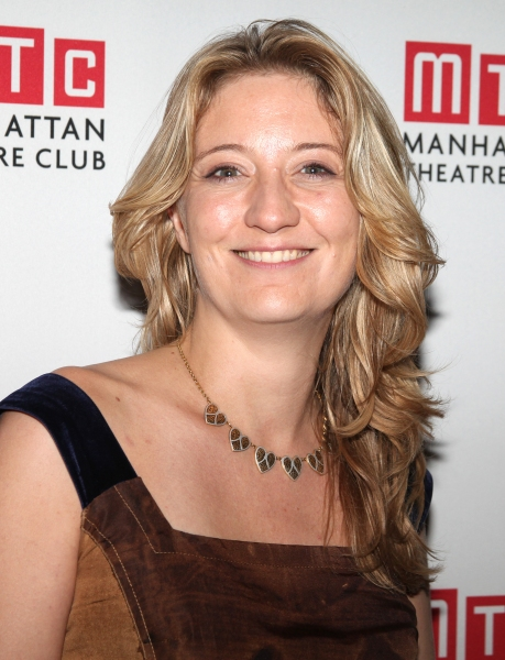 Heidi Schreck  at Zoe Kazan's WE LIVE HERE Celebrates Opening Night at MTC