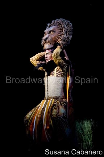 David Comrie at Presentación de 'El Rey León' en Madrid