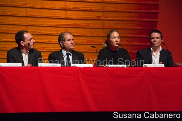 Felipe Gamba, Simon Amsele, Julia Gomez Cora y John Stefaniuk