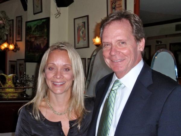 Director Bud Martin and daughter Megan