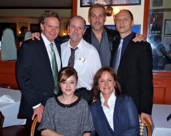 Bud Martin, Bruce Graham, Paul Michael Valley, Michael Mastro. (front l-r) Lauren Ashley Carter, Hillary B. Smith