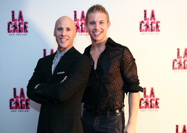 Christophe Cabarello (Dance Captain), Matt Anctic (Angelique)