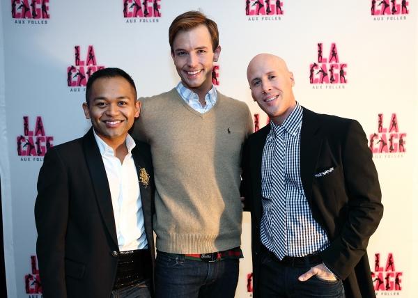 Jeigh Madjus (Jacob), Logan Keslar (Bitelle), Christophe Caballero (Dance Captain)
