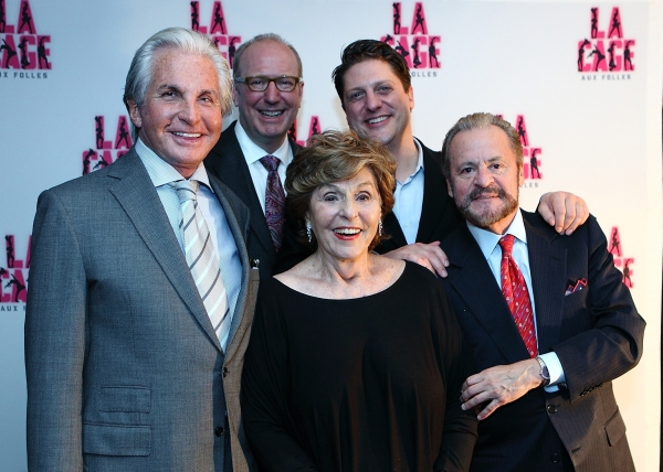 George Hamilton (Georges), Jeff Chelesvig (Civic Center of Greater Des Moines), Fran Weissler (Producer), Christopher Sieber (Ablin), Barry Weissler (Producer)
