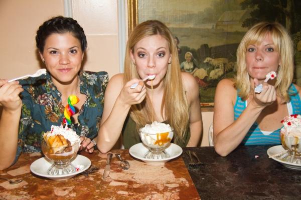 Sara Edwards, Kirsten Scott & Jenifer Foote  - Follies @ Serendipity - 10.12.11