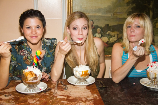 Photo Flash: FOLLIES Cast Celebrates Serendipity Sundae!