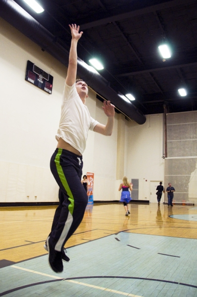 Photo Coverage: NBA's Chris Millen Coaches LYSISTRATA JONES Cast!
