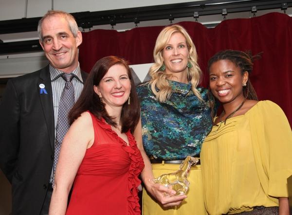 John Clinton Eisner, Lesley Malin, Sandi Goff Farkas, Katori Hall Photo