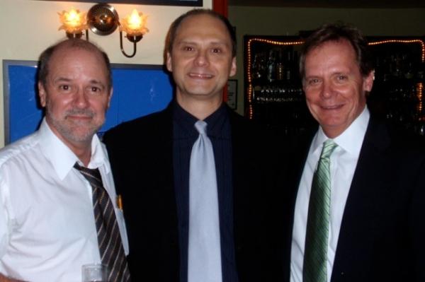 Bruce Graham, Michael Mastro, Bud Martin