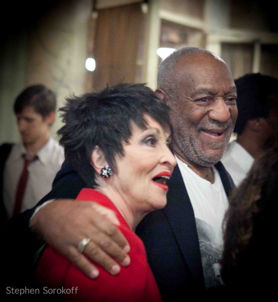 Chita Rivera & Bill Cosby at Bill Cosby , Chita Rivera & Mark Nadler Lead 'Laugh, Sing, Dance!' Benefit