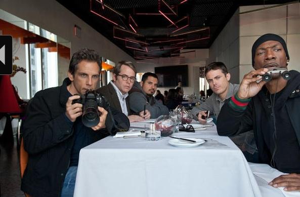 Ben Stiller, Matthew Broderick, Michael Pena, Casey Affleck & Eddie Murphy