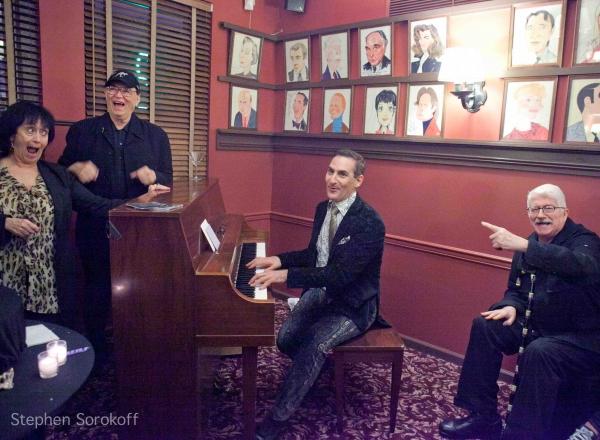 Photo Coverage: Rivera et al. at ART START 'Laugh, Sing, Dance!' After Party