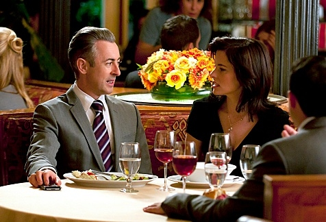 Alan Cummings & Parker Posey at Parker Posey Guest Stars in Upcoming Episode of THE GOOD WIFE