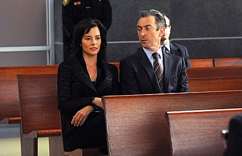 Parker Posey & Alan Cummings at Parker Posey Guest Stars in Upcoming Episode of THE GOOD WIFE