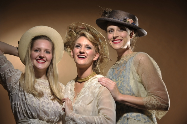 Mary (Riley Krull), Dorrie (Brittany Danielle) and Tiny (Kate Paul)  Photo