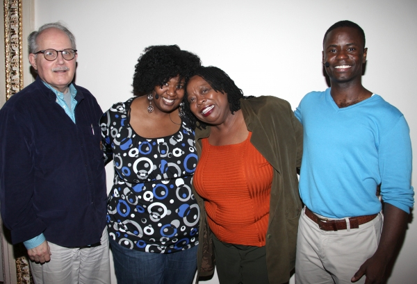 Natasha Yvette Williams & Carol Woods & James T. Lane at Exclusive Coverage: Rehearsal with IRVING BERLIN: RAGS TO RITZES