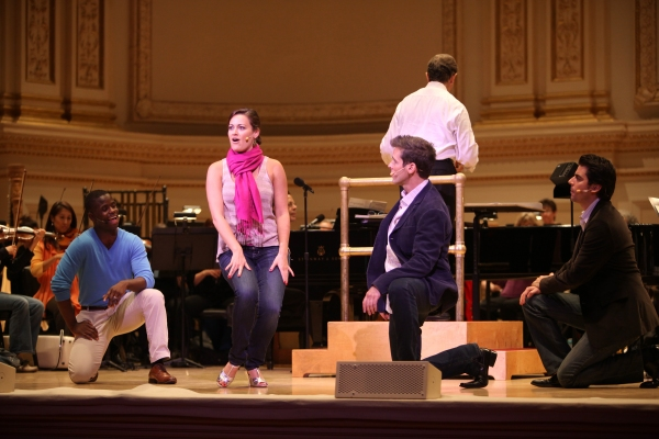 Exclusive Coverage: Rehearsal with IRVING BERLIN: RAGS TO RITZES