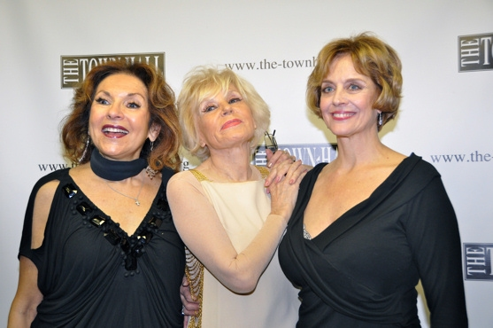 Lorraine Serabian, Yvonne Constant and Marianne Tatum