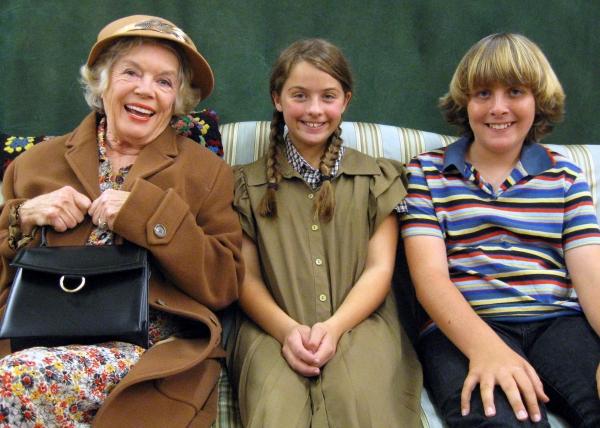Alice Lunsford, Francesca Farina, Mason Bromberg