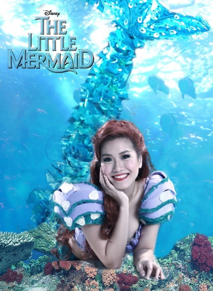 Photo Flash: Disney's THE LITTLE MERMAID Promo Art Revealed for the Philippines