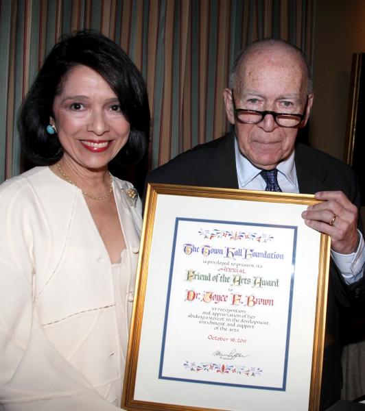 Marvin Leffler & Dr. Joyce F. Brown