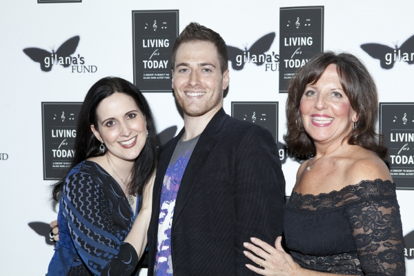 Stephanie D'Abruzzo, Randy Rainbow and Madeline Doherty