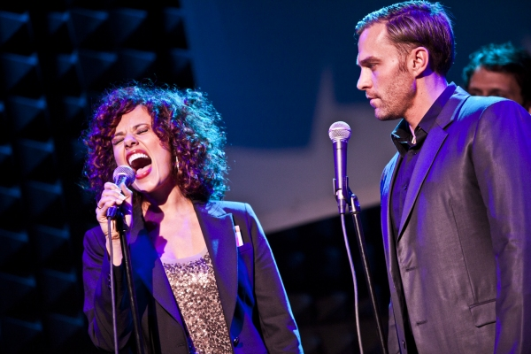 Janet Dacal and Darren Ritchie at Lazar, Case & More in LIVING FOR TODAY Benefit at Joe's Pub