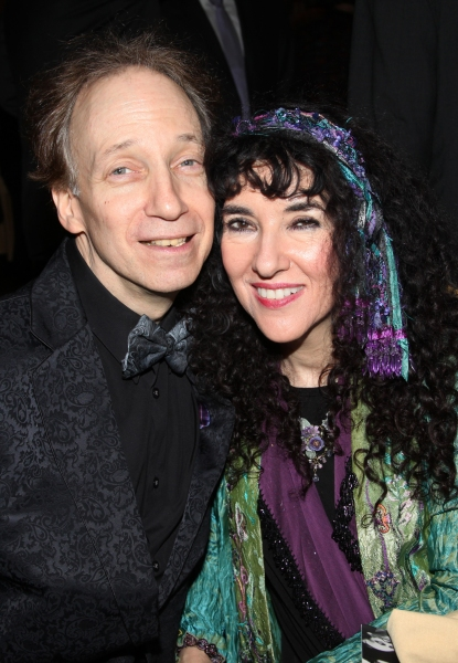 Scott Siegel & Barbara Siegel attending the 'Friends of Arts' Awards at the Princeton Club in New York City at Photo Coverage EXCLUSIVE: Town Hall Honors Judith Jamison & Joyce F. Brown with 'Friend of the Arts' Awards