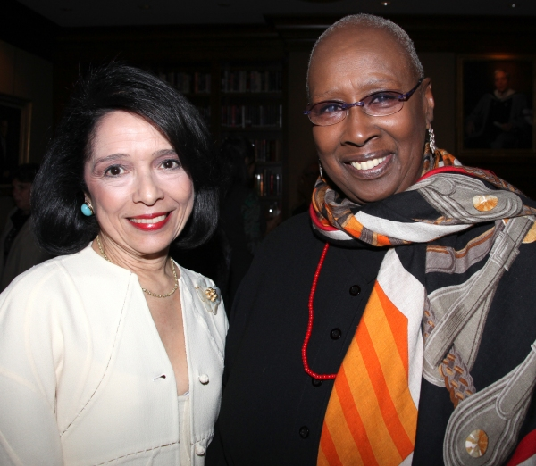 Dr. Joyce F. Brown & Judith Jamison attending the 'Friends of Arts' Awards at the Princeton Club in New York City