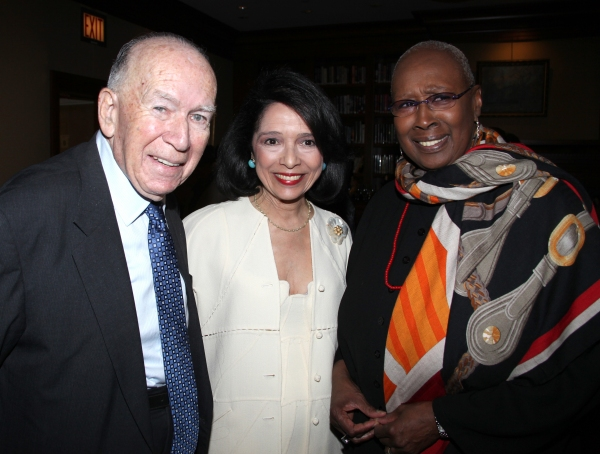 Marvin Leffler & Dr. Joyce F. Brown & Judith Jamison attending the 'Friends of Arts' Awards at the Princeton Club in New York City