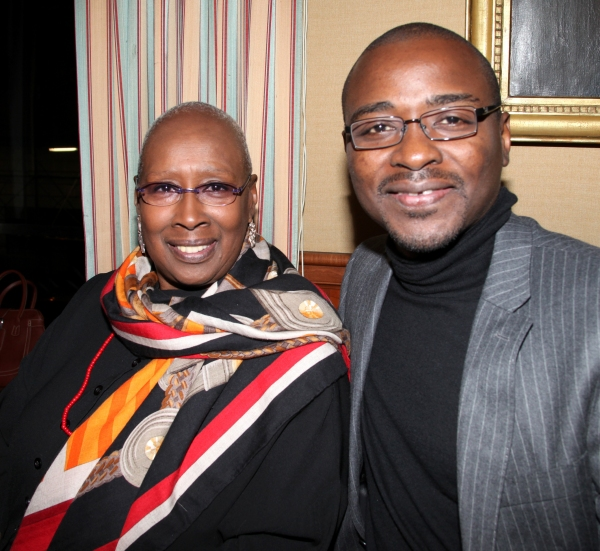 Judith Jamison & Robert Battle attending the 'Friends of Arts' Awards at the Princeton Club in New York City at Photo Coverage EXCLUSIVE: Town Hall Honors Judith Jamison & Joyce F. Brown with 'Friend of the Arts' Awards