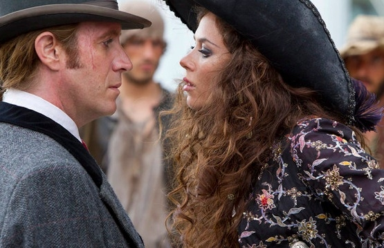 Rhys Ifans & Anna Friel at Sneak Peak - Syfy's Miniseries NEVERLAND Airing 12/4 & 5