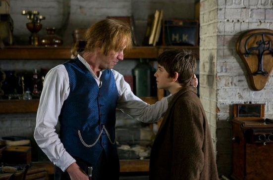 Rhys Ifans & Charlie Rowe at Sneak Peak - Syfy's Miniseries NEVERLAND Airing 12/4 & 5