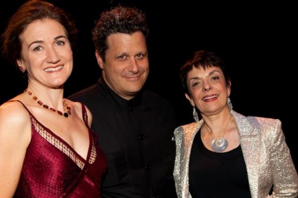 Cheryl Henson, Isaac Mizrahi & Cora Cahan
