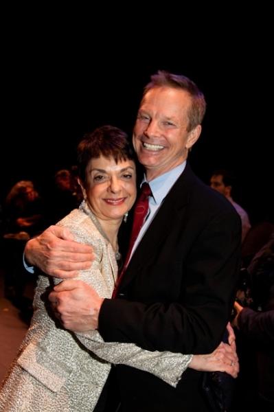 Cora Cahan and Bill Irwin