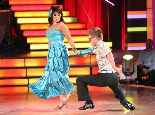Ricki Lake & Derek Hough at Highlights from Last Night's DANCING WITH THE STARS