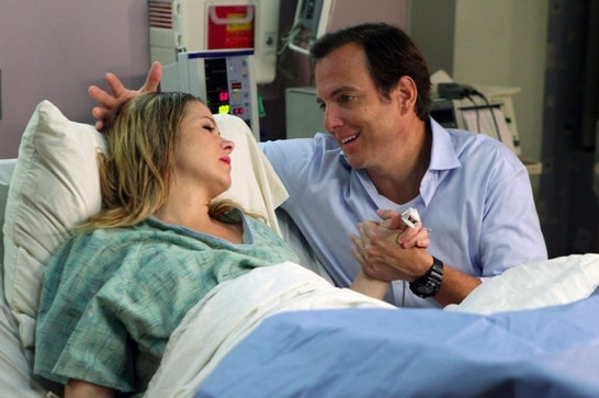 Christina Applegate & Will Arnett at Sneak Peak -  UP ALL NIGHT'S  'Birth' Episode Airs 10/19